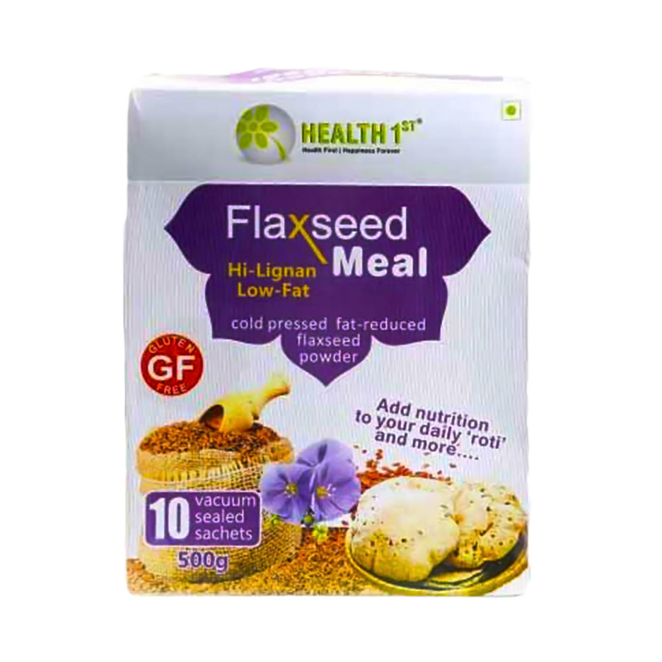 Health First Flaxseed Meal 500 gm