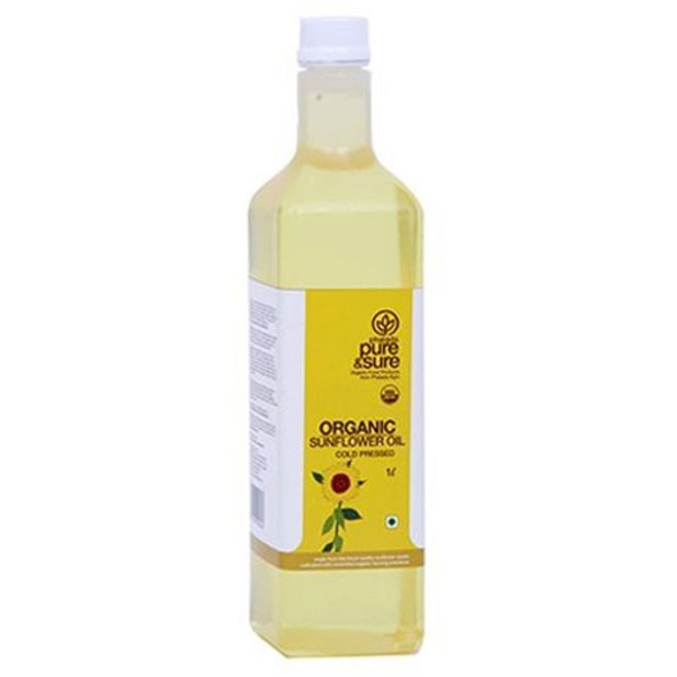 Pure & Sure Sunflower Oil (1 Ltr)