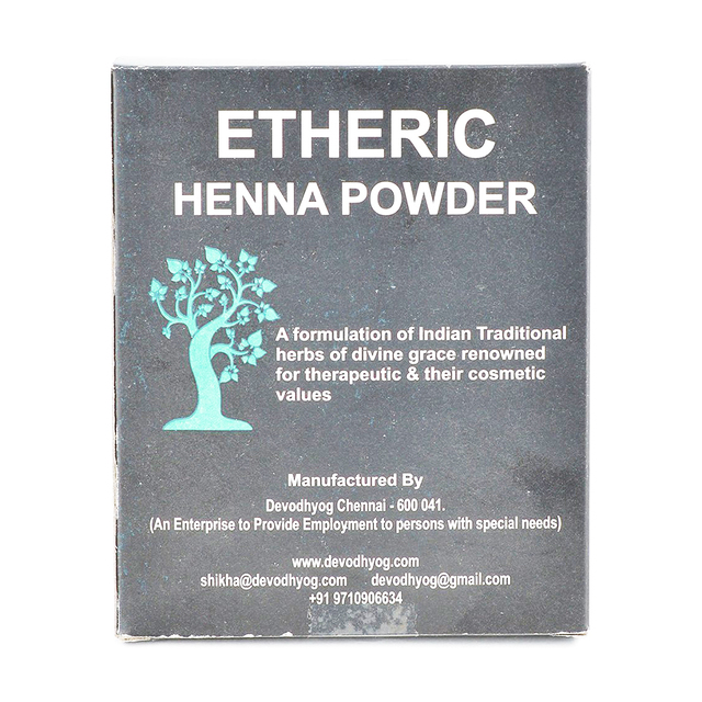 Etheric Henna Powder