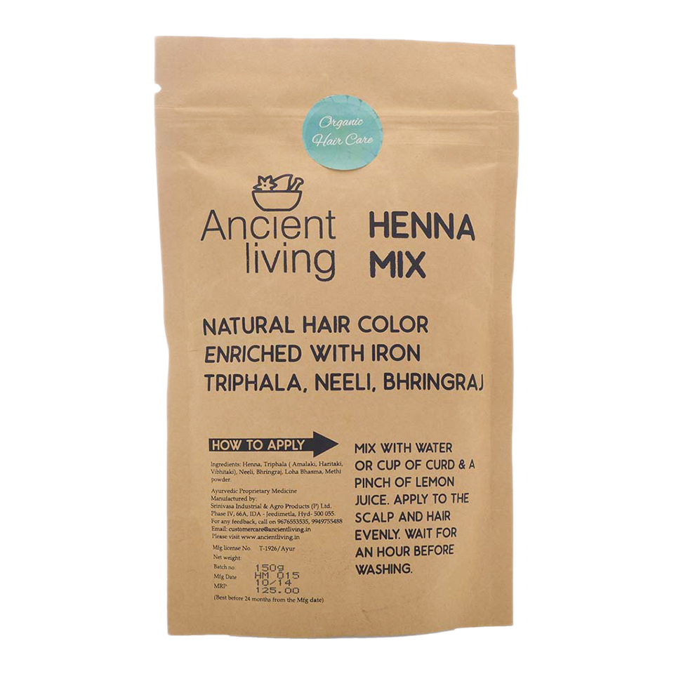 Ancient Living Henna Mix