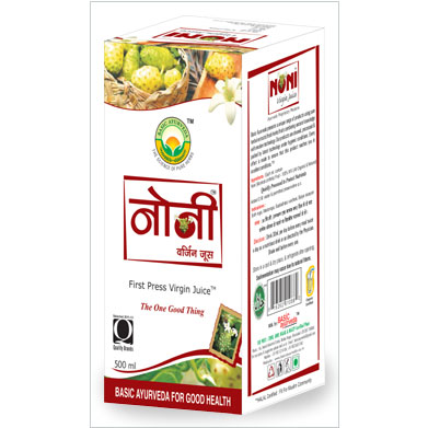 Basic Ayurveda Noni Juice, 500 ml