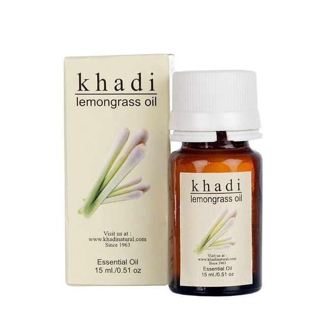 Khadi Lemongrass Oil 15 ml