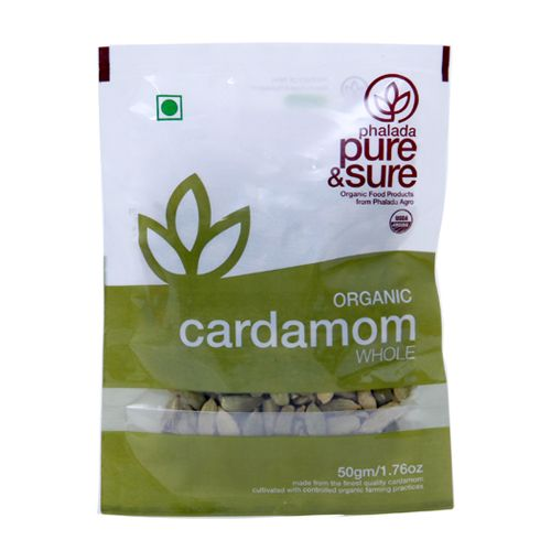 Pure and Sure Cardamom 50 gms