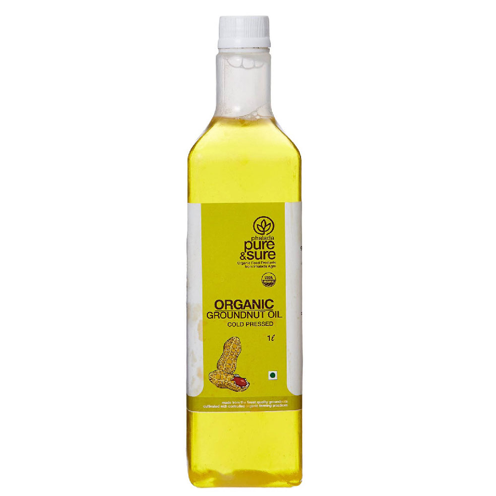 Pure & Sure Groundnut Oil (1 Ltr)