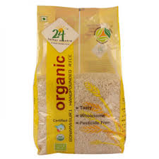 24 Mantra SM semi Brown Hand Pound Rice 5 Kg