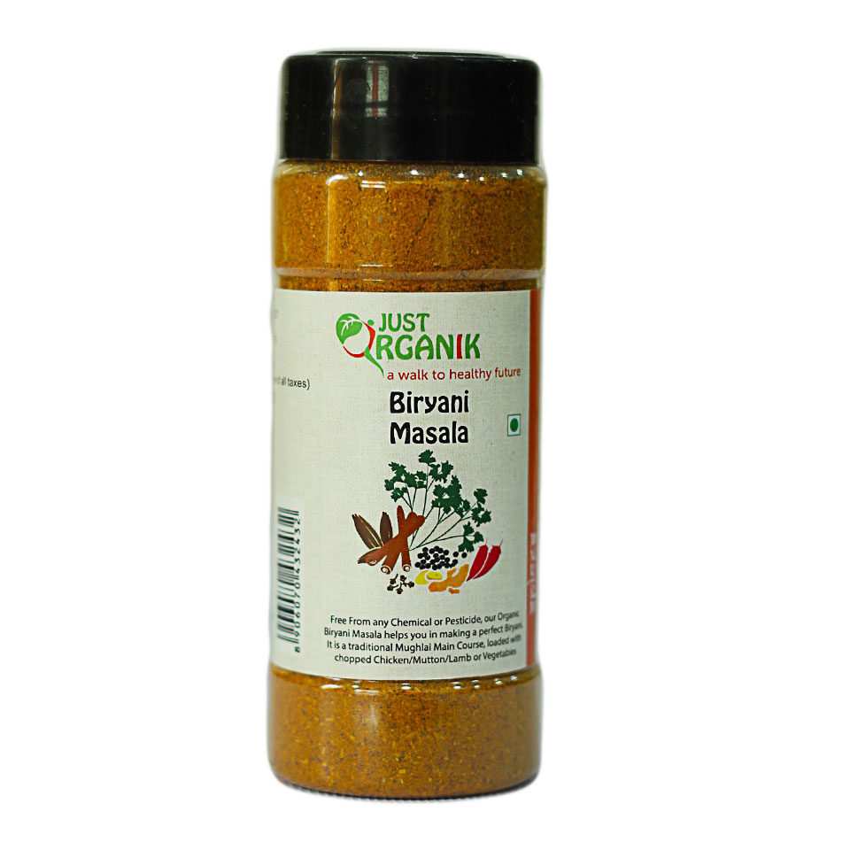 Just Organic Biryani Masala, 100 gm
