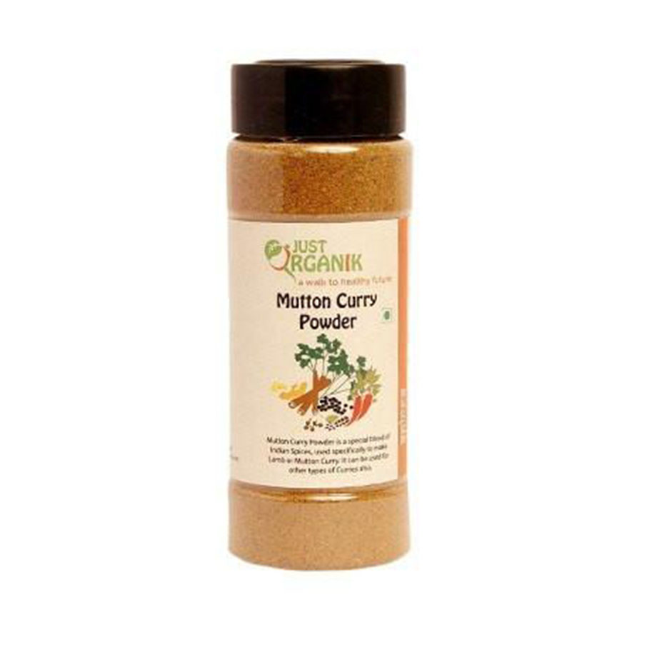 Just Organic Mutton Curry Masala, 100 gm