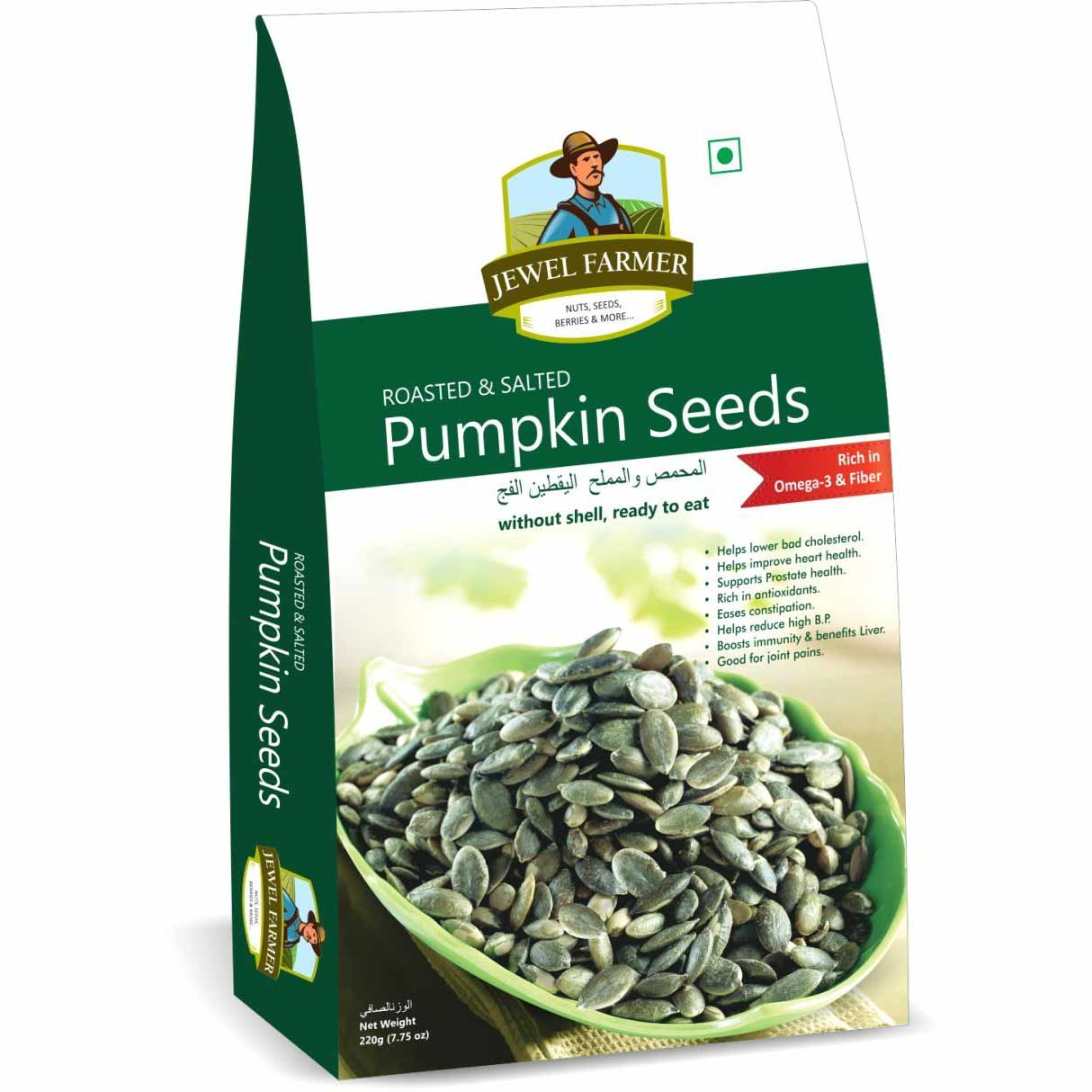 Jewel Farmer Pumpkin seeds 220 gm