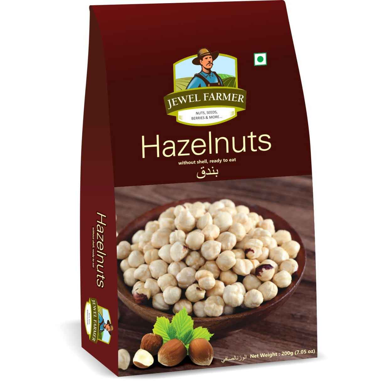 Jewel Farmer Hazelnuts 200 gm