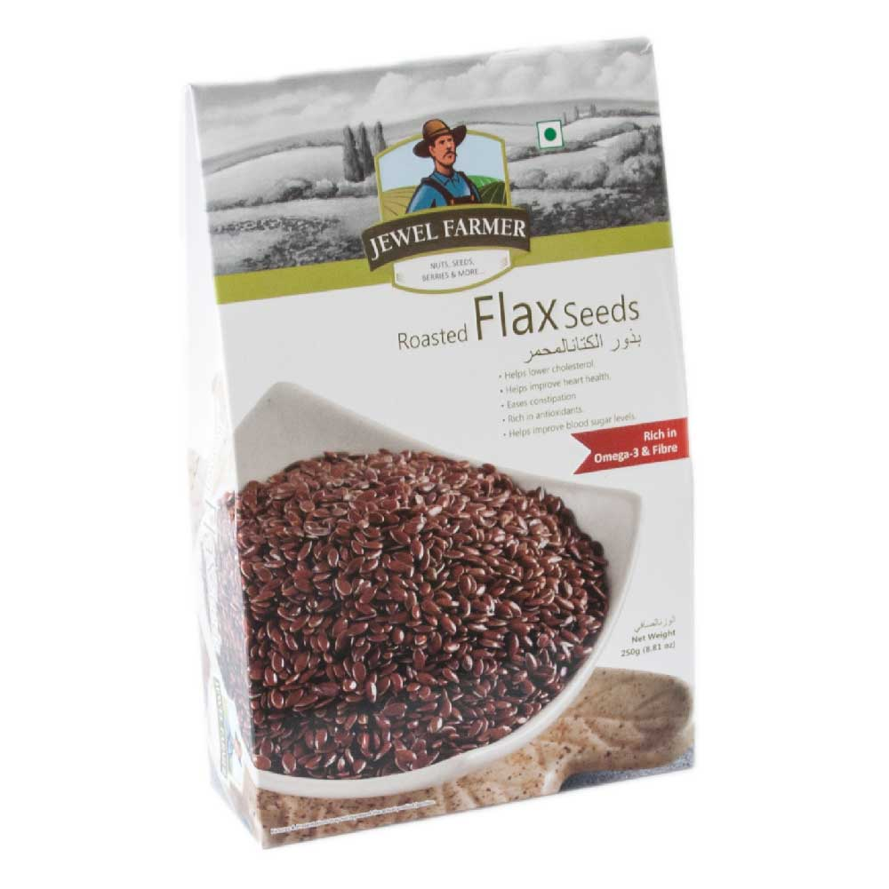 Jewel Farmer Roasted Flex seeds 250 gm