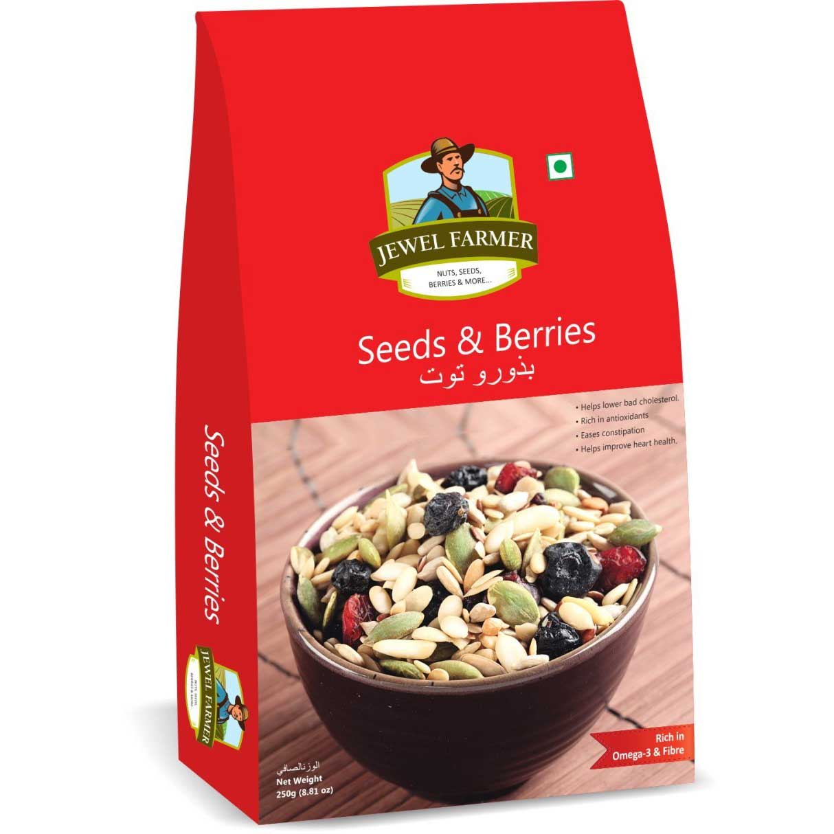 Jewel Farmer Seeds & Berries 250 g