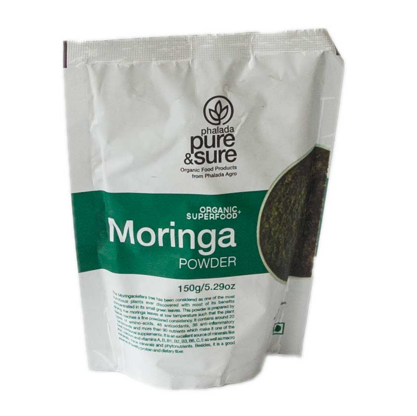 Pure & Sure Organic Moringa Powder 150 gm
