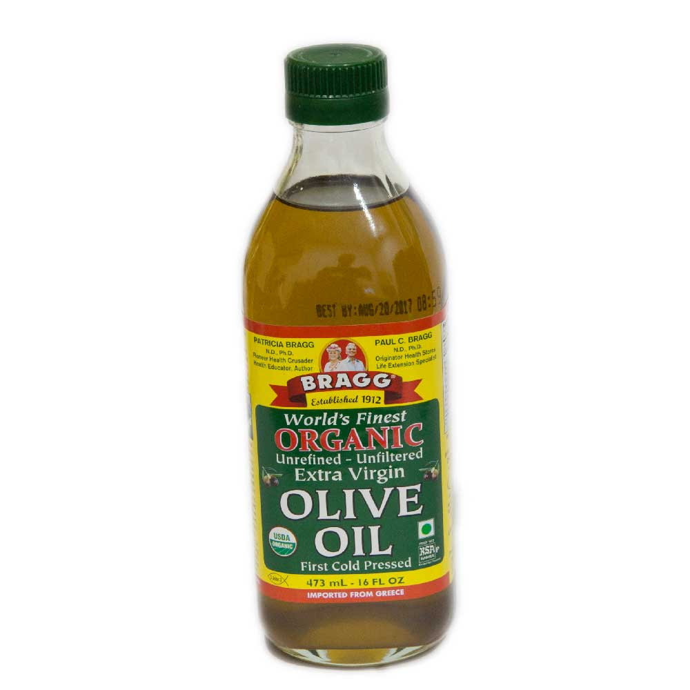 Bragg Organic Extra Virgin Olive Oil, 16 Oz