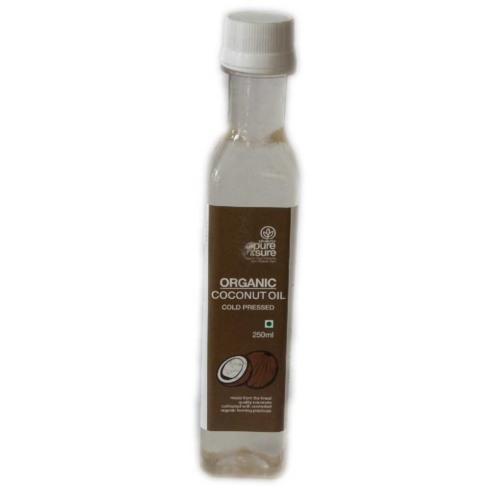 Pure and Sure Coconut Oil 250 ml