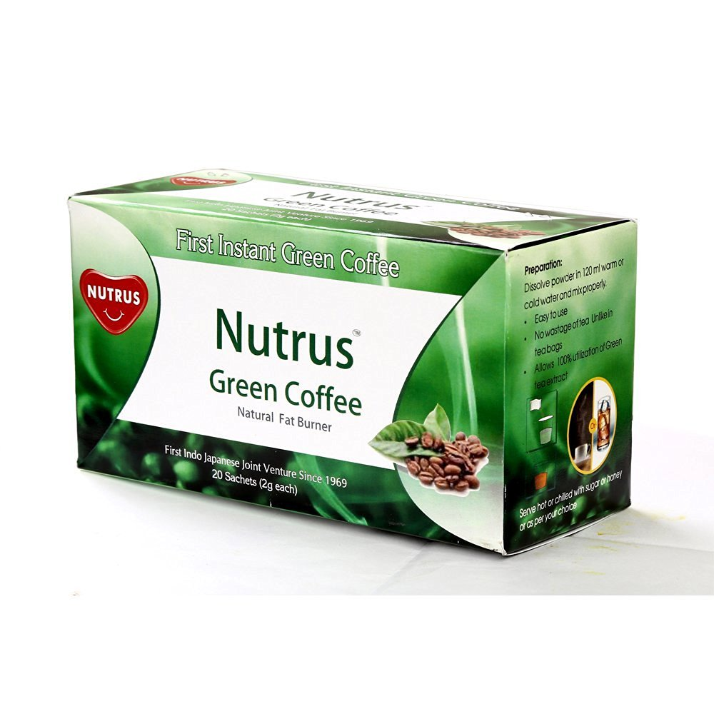 Nutrus Green Coffee 20 sachets