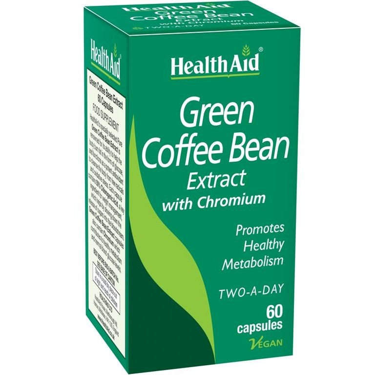 Health Aid Green Coffee Bean Extract 60 capsules