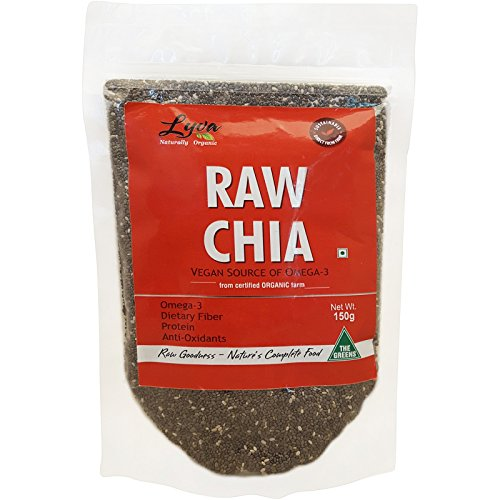 Lyva Raw Chia Seeds 150 g
