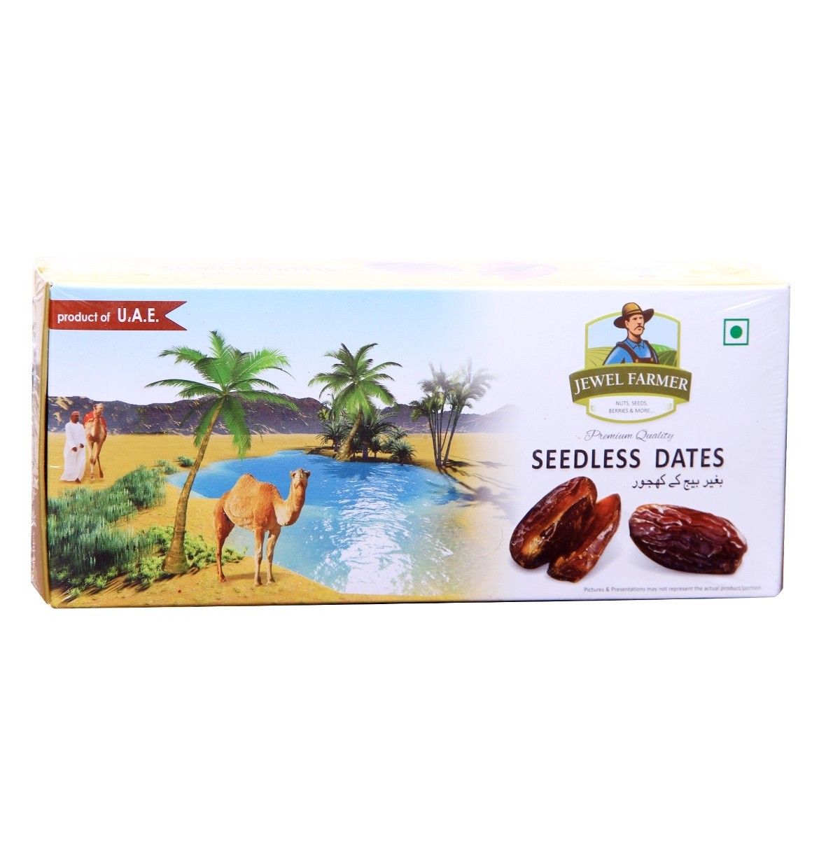 Jewel Farmer Seedless Dates 400 gm
