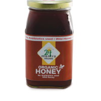 24 mantra Wild Honey 500 gms