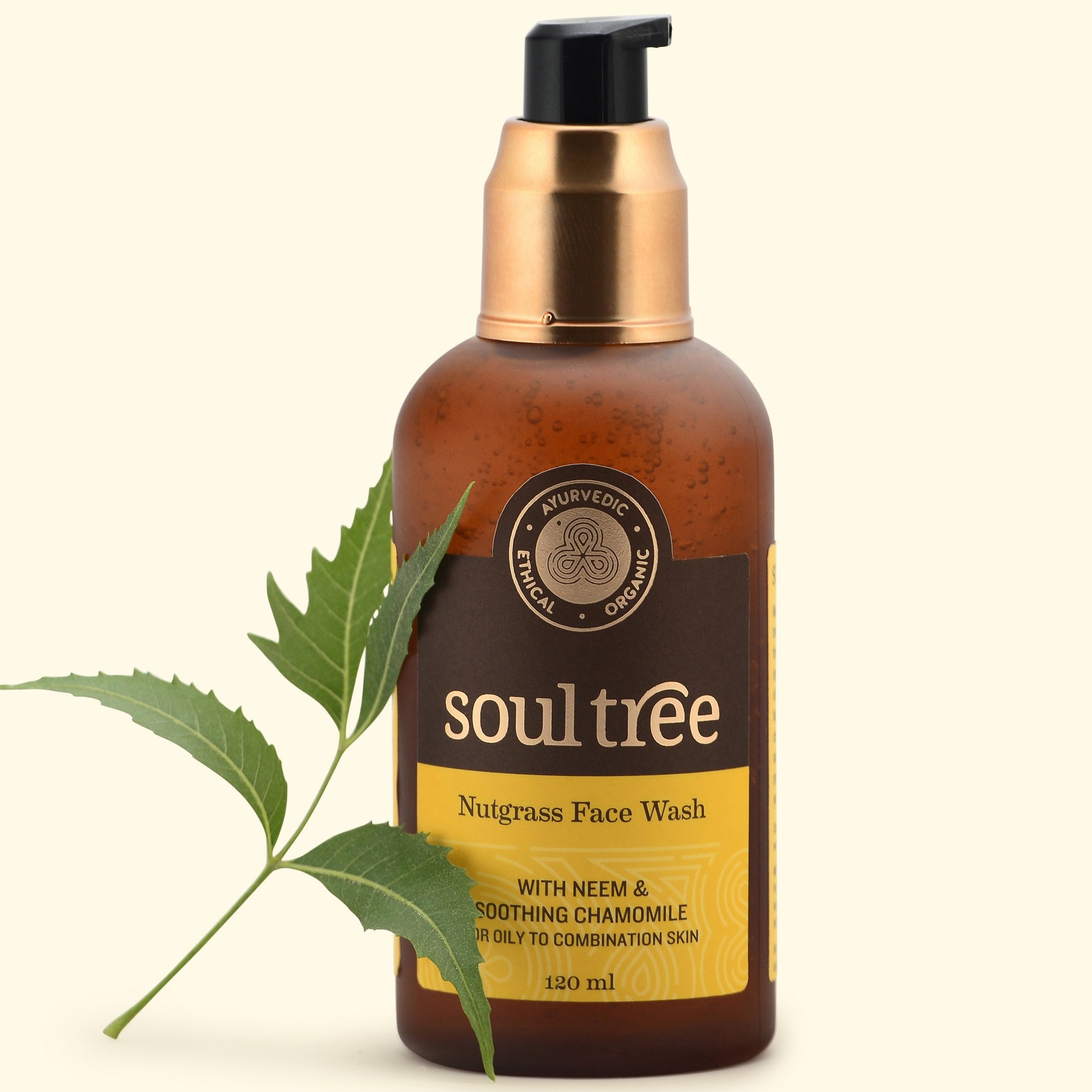 Soultree Nutgrass Face Wash 120 ml