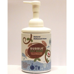Bubble nut wash Natural Dishwash Foam 500ml