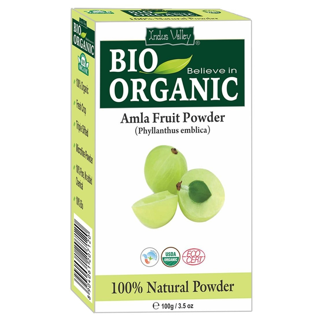 Indus Valley Amla Fruit Powder 100 gm