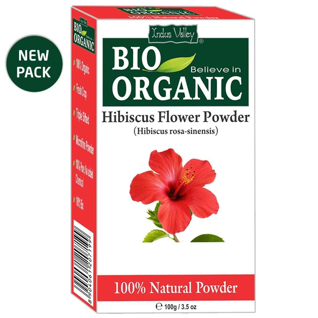 Indus Valley Hibiscus Flower Powder 100 gm