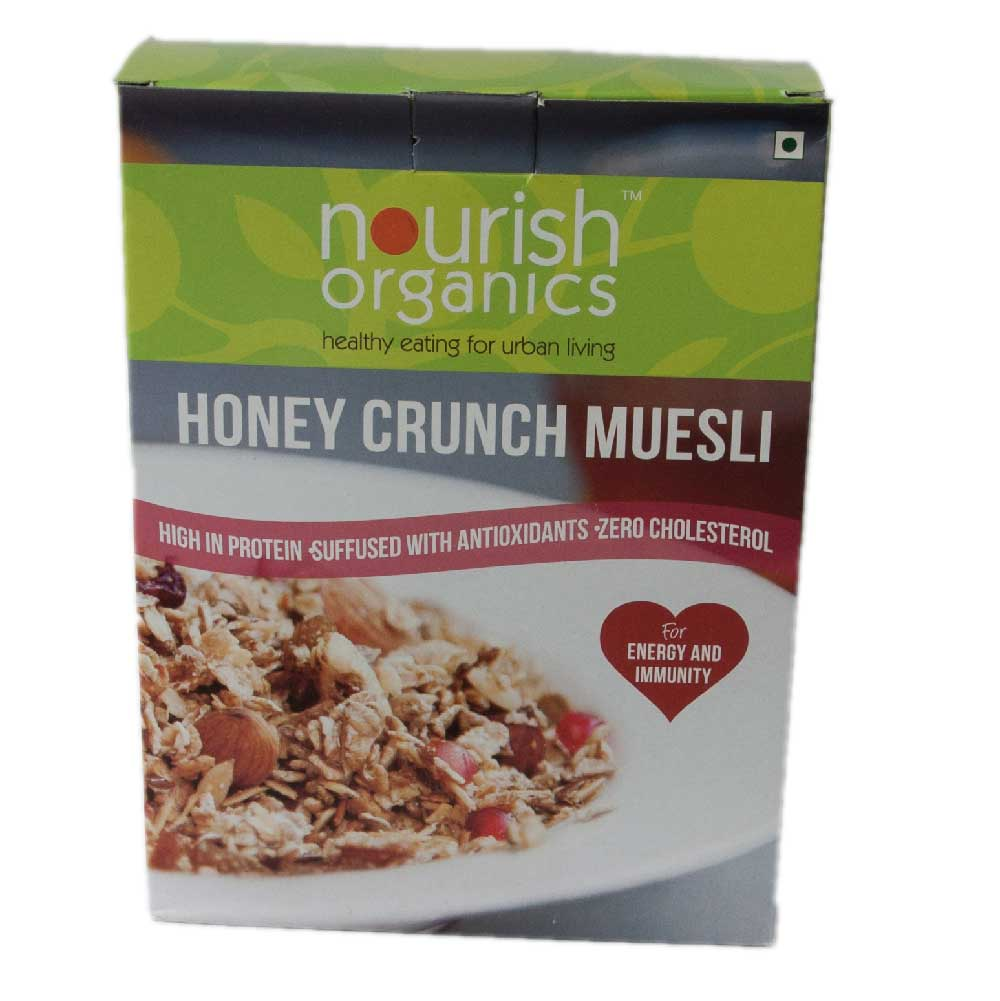 Nourish Organic Honey Crunch Museli