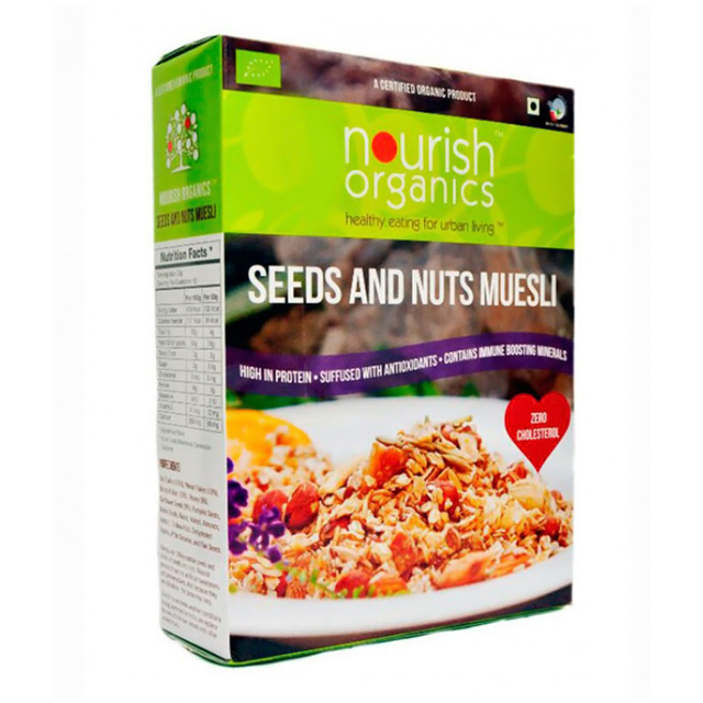 Nourish Organic Seed and Nut Museli 300 gm
