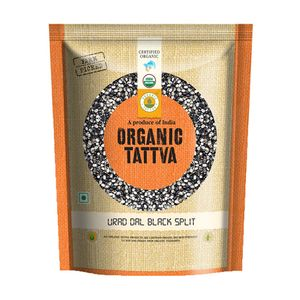 .Tattva Organic Urad Dal Black split 500 gm