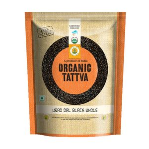 .Tattva Organic Urad Dal Black Whole 500 gm
