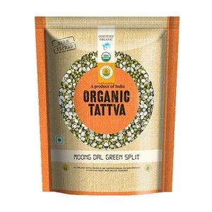 Tattva Organic Moong Dal Green Split 500 gm