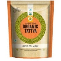 .Tattva Organic Moong Dal Green Whole 500 gm