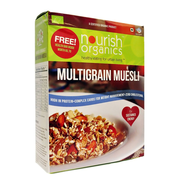 Nourish Organic Multi Grain Museli 300 gm