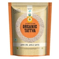 .Tattva Organic Urad Dal White Whole 500 gm
