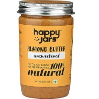 Happy Jars Almond Butter Unsweetened 265 gm