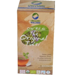 Organic Wellness Green Tea Classic Tea Bags 25's