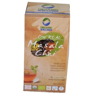 OW Real Masala Chai 25 Bag