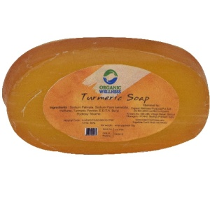Organic Wellness Turmeric Soap 75Gm