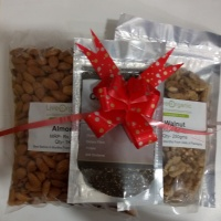 Combo Offer 1kg Almond+250g Walnut+100g Chia Seeds