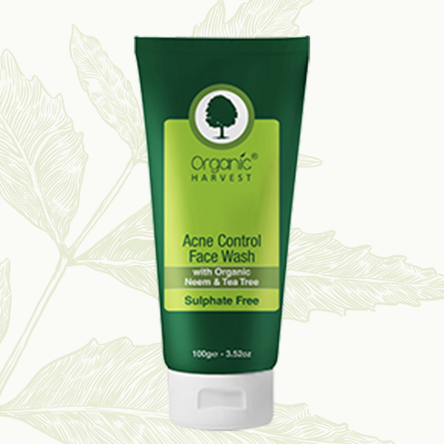 Organic Harvest Acne Control Face Wash 100 g