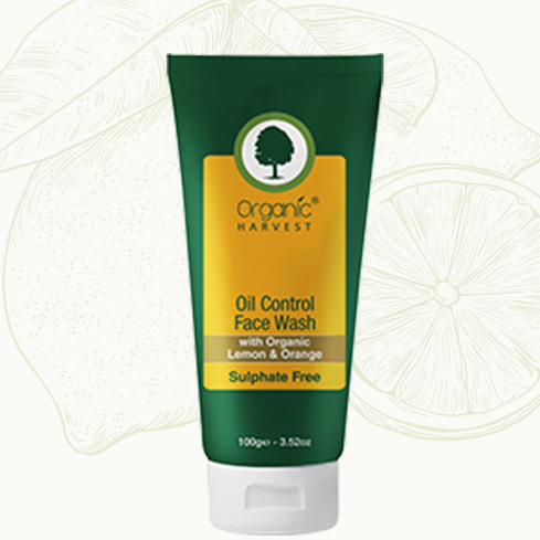 Organic Harvest Oil Control Face Wash 100 gm