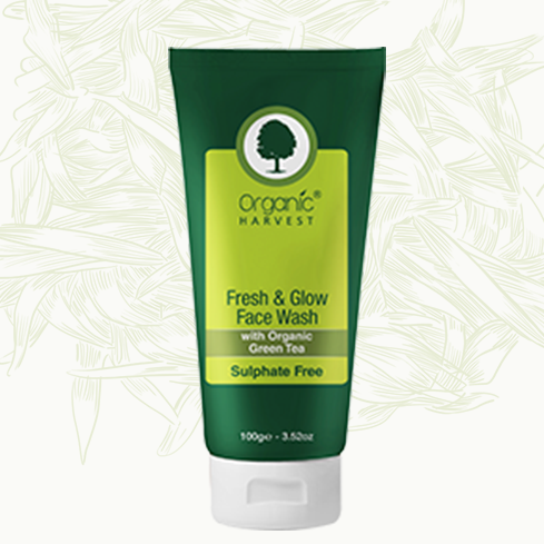 Organic Harvest Fresh & Glow Face Wash 100 g