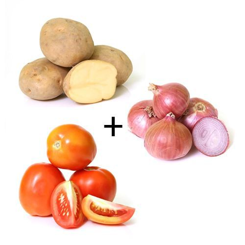 Tomato+Onion+Potato Combo - 1 Kg Each
