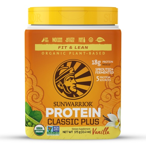 SunWarrior Fit & Lean Protein Vanilla 375 gm