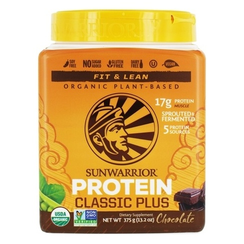 SunWarrior Fit & Lean protein Chocolate 375 gm