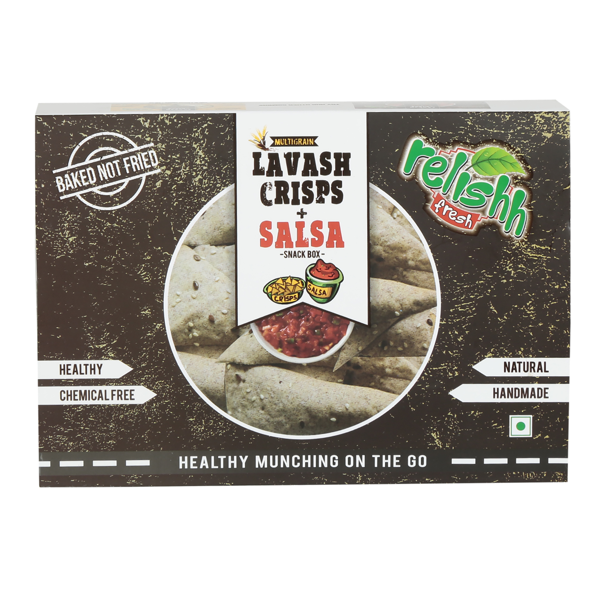Relishh Multigrain Crisps + Mexican Dip Combo