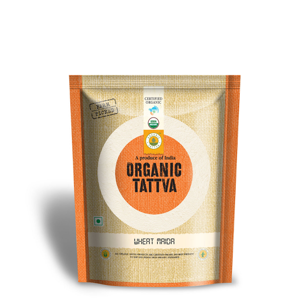 .Tattva Organic Wheat Maida 500 g