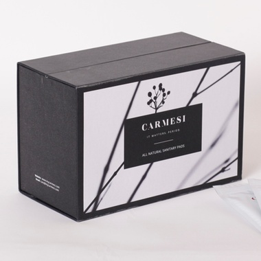 Carmesi Natural Sanitary Pads XL 30 Pcs