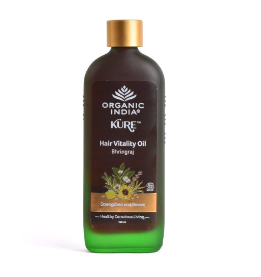 Organic India Hair Vitality Oil Bhringaraj 120 ml